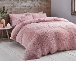 catherine lansfield cuddly fleece pink
