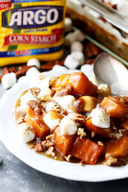 sweet potato casserole recipe with marshmallows and pecans. Perfect Potato Orange And Pecans Sweet Potato Casserole  Delicious Chunks Of Sweet  Potatoes Baked In A Luscious Inside Recipe With Marshmallows And T