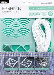 Amazon Com Bucilla 49137e Fashion Embroidery Pattern