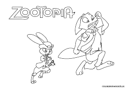 By best coloring pagesdecember 29th 2016. Zootopia Coloring Pages