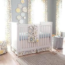 yellow and gray crib bedding grey sheet owl nursery elephant uk