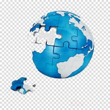 Puzzle Globe Logo Earth Logo Clipart Design Globe World Transparent Clip Art