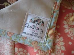 Custom Quilt Labels | Quilting in the Rain & Custom Quilt Labels Adamdwight.com
