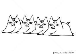 シンプルな猪いのししイノシシイラスト亥年年賀状のイラスト素材