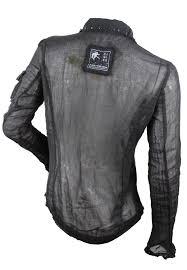 da nang women s black sheer western style shirt blouse