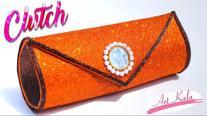 how to make clutch at home handbags for women step by step making diy artkala 151