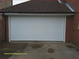 after installed double sectional garage door