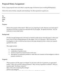 Memo Proposal Format Free 12 Proposal Memo Examples Samples In Pdf Word