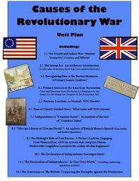 ideas about causes of american revolution on pinterest    causes of the american revolution unit   highly engaging activities and lessons