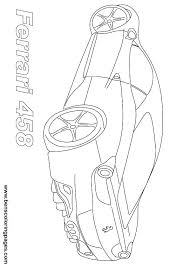Coloring Pages Ferrari Printable Spider Coloring Page Coloring Pages