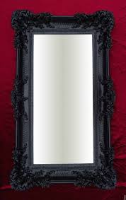 Details About Wall Mirror Black 96x57 Antique Baroque Rococo Mirror Shabby Chic Retro Design