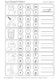Phonics worksheets on short vowels   Teaching   Pinterest   Short ...