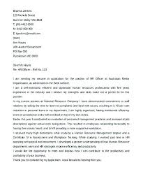 hr cover letters writing a cover letter to human resources cover letter for human