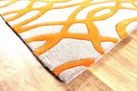 orange gray rug black and grey rugs area the home depot within prepare burnt indira orange gray rug