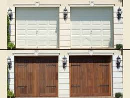 resurface your garage door
