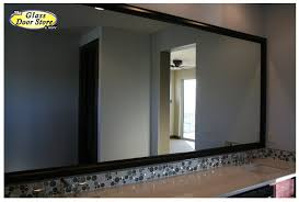 black framed bathroom mirrors. Mirror Design Ideas: Cool Small Silver Black Framed Bathroom Mirrors E
