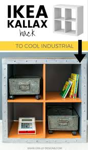 ikea industrial furniture. DIY Furniture · IKEA Cube To Industrial Ikea E