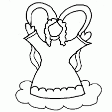 Small Picture Angel Cut Out Coloring Coloring Pages