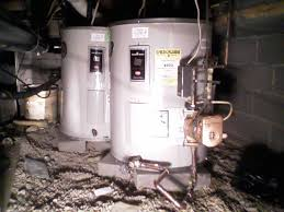 crawl space water heater. Interesting Water Installation Of Dual Lowboy Water Heaters In Crawl Space With Circulating  Pump Throughout Heater O