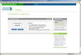 Online Banking Faq Registration Standard Chartered Bank