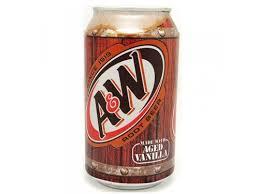 <b>A&W газированный напиток Root</b> Beer ж/б 355мл (24шт)   fpinvest