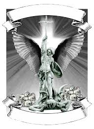Saint Michael Tattoo With Cross тату святой михаил архангел