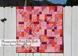 12 Free Charm Pack Quilt Patterns to Stitch Up & ... FREE charm pack quilt patterns from Craftsy's awesome indie designers?  Disappearing 9-Patch Baby Quilt Adamdwight.com