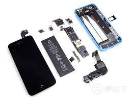 Iphone 5 And Iphone 5c Comparison Chart Iphone 5c Teardown