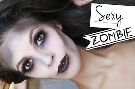 glamorous y zombie makeup tutorial 2016