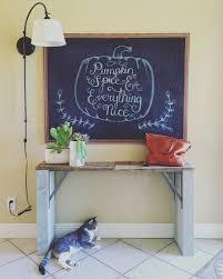 diy inexpensive chalk board