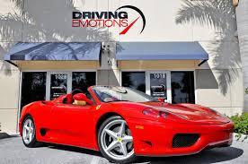 Merlin auto group atlanta, ga 2004 Ferrari 360 Spider Stock 5851 For Sale Near Lake Park Fl Fl Ferrari Dealer