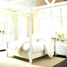 King Size Canopy Bed With Curtains King Canopy Bedroom Set Large ...