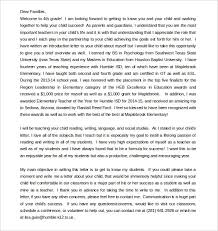 Parent Letter Template 10 Free Word Pdf Documents Download