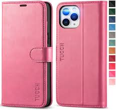 Amazon.com: TUCCH Wallet Case for iPhone 12 Pro Max 5G, RFID Blocking PU  Leather Stand Folio Cover with TPU Protective Interior Shell, Magnetic Card  Slot Flip Case Compatible with iPhone 12 Pro