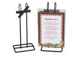 Restaurant Table Top Display Stands Menu Stands Restaurant Table Tents Table Stands and Card 76