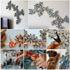 diy 3d paper roll flower art on 3d paper wall art tutorial with diy 3d paper roll flower wall art