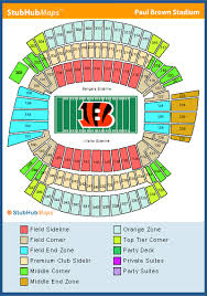 Steeler Game Seating Chart Seating Chart To Print Steelers Tickets Cincinnati