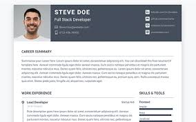 Online Resume Portfolio Instance Bootstrap Personal Portfolio Template For Full
