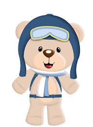 Resultado de imagem para risco ursinho aviador