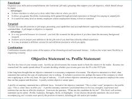Resume Objective Statements Resume Example
