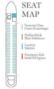 Q400 Seat Map Jazz Aviation Lp
