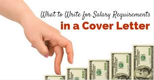 What To Write For Salary Requirements In A Cover Letter Tips Wisestep