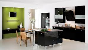 Modern Kitchen Furniture Sets Modern Kitchen Table Interesting Modern Dark Tempered Glass