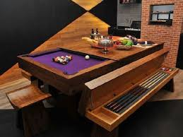Pool table dining top Ideas Pool Table Dining Room Table With Bench Pinterest Pool Table Dining Room Table With Bench Home In 2019 Pool Table