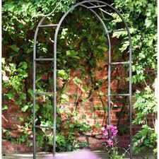 classic metal garden arch the garden