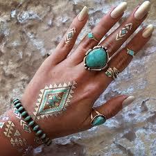 navajo tattoo designs. Metallic Tattoo Designs For Women62 Navajo D