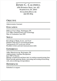 Resume Examples For College Fascinating Undergraduate College Resume Template Undergraduate College Student