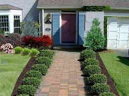 Small Picture Small Front Yard Landscaping Ideas Wooden Chair Landscape Design
