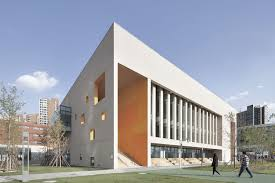 architectural design. Contemporary Architectural School With An Open Space  Beijing Institute Of Architectural Design 6th  Division  XIA To