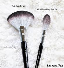 sephora collection pro featherweight 92 fan brush review